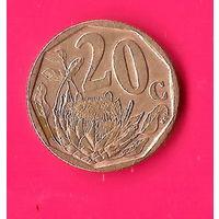 05-13 ЮАР, 20 центов 2004 г.