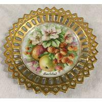 Тарелка (блюдце) Сочные Фрукты (Яблоневый Сад), КарлсБат