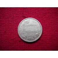 Французская Полинезия 2 франка 1983 г.