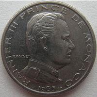 Монако 1/2 франка 1965 г.