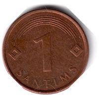 Латвия. 1 сантим. 2007 г.