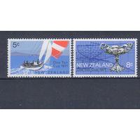 [2309] Новая Зеландия 1971. Парусники.Яхты. СЕРИЯ MNH