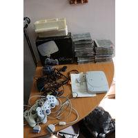 Игровая приставка Sony PlayStation+много игр. С РУБЛЯ! АУКЦИОН!!!