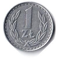 Польша. 1 злотый. 1985 г.