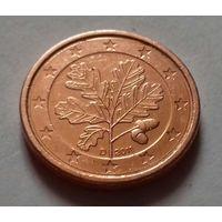 1 евроцент, Германия 2011 D