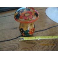 Шкатулка гриб