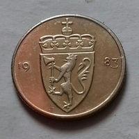 50 эре, Норвегия 1983 г.