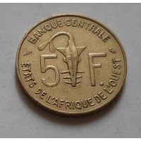 5 франков 1971 г. Западная Африка