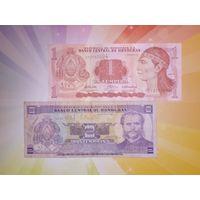 Гондурас 1 и 2 лемпиры 2008-10гг