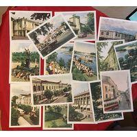 Открытки Гродно 1961 год 15 штук
