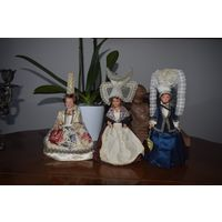 Куклы коллекционные Petitcollin, Франция 1970е, 20 см