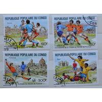 Марки Конго. Футбол