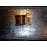 Провод медный 1 мм  с катушкой, цена за одну, вес 1 кг.
