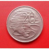 68-10 Австралия, 20 центов 1976 г.