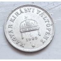 Венгрия 10 филлеров, 1909 3-11-5
