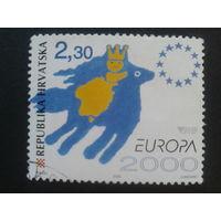 Хорватия 2000 Европа