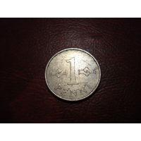 1 пенни 1973 Финляндия