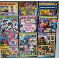 DVD диски с мультфильмами, цена за лот (лот 5)