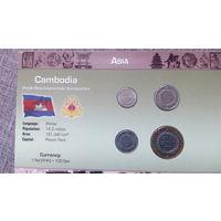 1к Камбоджа набор 1994 распродажа коллекции