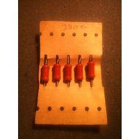 Резистор 390 кОм (МЛТ-1, цена за 1шт)