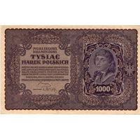 1000 польских марок, 1919 г.