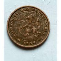 Нидерланды 1/2 цента, 1936 1-11-15