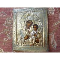 Икона Иверская Богоматерь 19 век.
