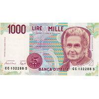 Италия, 1000 лир, 1990 г.