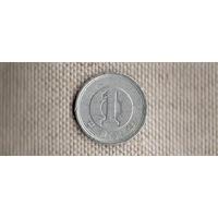 Япония 1 йена 1989/(En)