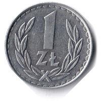 Польша. 1 злотый. 1987 г.