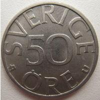 Швеция 50 эре 1985 г. (d)