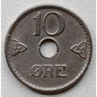 Норвегия 10 эре 1938