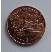 Остров Мэн 1 пенни. 1995