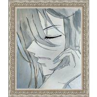 Картина маслом Tomoe