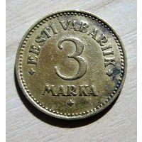 3 марки 1925 г. Первая Эстонская Республика.
