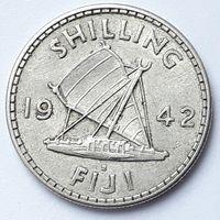 1 шилинг 1942 г Фиджи