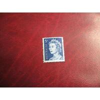 Марка королева Елизавета II 1967 год Австралия