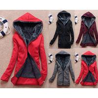 Cтильная тёплая куртка-толстовка