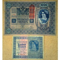 1000 крон 1919/22гг