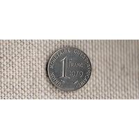Западная Африка 1 франк 1979 год(Nv)