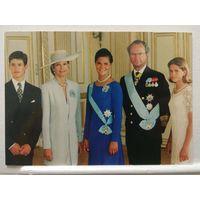 Королевская семья Швеции.