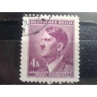 Богемия и Моравия 1942 фюрер 4 кроны
