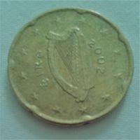 20 евроцентов, Ирландия, 2002