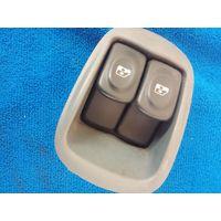 Кнопки (блок) управления стеклоподьемниками Renault Megan Scenic.