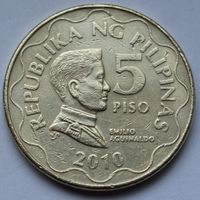 Филиппины, 5 писо 2010 г