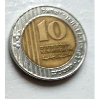 Израиль 10 новых шекелей, 1995  2-13-7