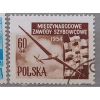 Авиация Самолеты Польша 1954 год лот 4