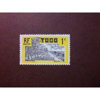 Французский Того 1924 г.Кокосовая плантация.