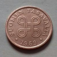 5 пенни, Финляндия 1969 г.