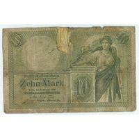 Германия, 10 марок 1906 год